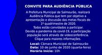 Audência Pública 1º Quadrimestre de 2020