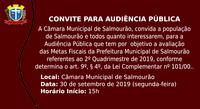Audiência Pública 2º Quadrimestre de 2019