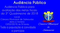 Audiência Pública de Metas Fiscais