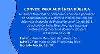 Audiência Pública - Diretrizes Orçamentárias