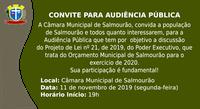 Audiência Pública - Orçamento 2020