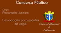 Câmara convoca aprovado em Concurso Público