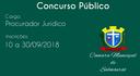 Câmara realizará Concurso Público