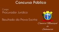 Classificação Inicial Concurso Procurador Jurídico