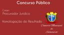 Homologação de Concurso Público